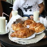 Smoothie & Pastry