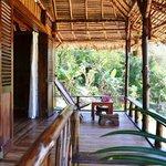 veranda Mussaenda