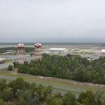 Views of ocean, museum, base and flight line.