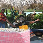 Jamaica day market by the Las Brisas pool bar
