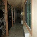 Corridor outside room.  Seems like new windows and fresh paint (Mar 2014)