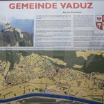 cartello per vicinanze Vaduz