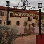 Entrance, Route 66 side, La Posada