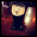 A lovely pint of Guinness