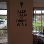 Definitely keep calm and drink wine