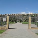 Entrace to Parque Del Sur (5 minutes away)