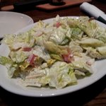 Bottomless Lexingtonian salad (over dressed)