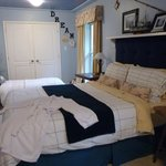 Nautical Themed Suite with Garden Views