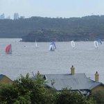 yacht race below q station