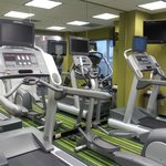 Small Fitness Room only 3 machines