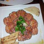 Beef Carpaccio at Carolina's Charleston
