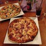 Two amazing pizzas!