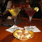 Martinis in the Gold Club Wine Bar