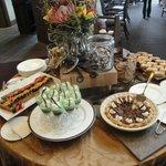 Desserts at Sunday Brunch