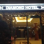 Front of Diamond Hotel