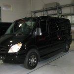 Serenity Van for Hotel pick up.