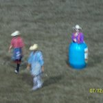 The rodeo clowns
