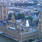 House of Parliament and Big Ben view from the London Eye