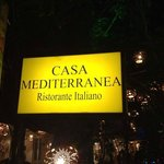 Letrero restaurante