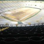 Lambeau Field from the 4th tier.