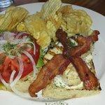 Mahimahi & Crispy Bacon Sandwich