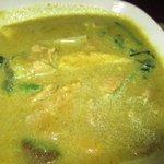 Khmer pork and vegetable stew - not our fav