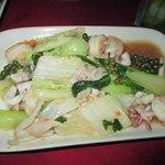 Seafood with kampot pepper - fresh, fresh fresh