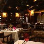 Grand restaurant interior