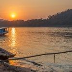 Great sunsets in Luang Prabang