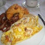 Muy bueno el desayuno
