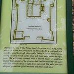 Floor plan of original House/ Fort