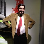 The wax statues were very realistic - loved Mr Bean