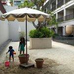บ่อทรายสำหรับเด็กๆ