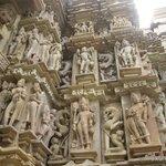 The Outer walls of Devi Jagadamba Temple