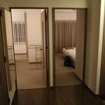 bed room entrance