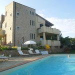 Good quality accommodation with pool