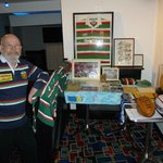 With some of my sporting memorabilla