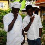 chef Aneil and Devaldo