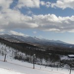 ゲレンデからの八ヶ岳