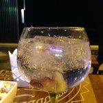copa en el bar