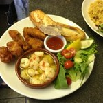 Selection of Fish (Haddock Goujons, Scollops in Garlic Butter, Scampi)