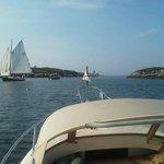Sailing through Fisherman's Passage