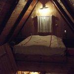 Bedroom (first floor) in Bungalow