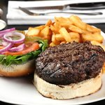 Beef Burger 300 gr. made of aged entrecote