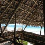 Panorama spiaggia dal Ristorante