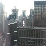 View from my room/Times Square