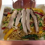 Asian noodles with duck ... €5.95