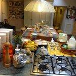 Set for breakfast