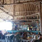 Beach front cafe/bar/art studio in San Pedro town