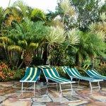 Em todo o espaço do Resort se encontra uma bela paisagem entre o hotel e a natureza.